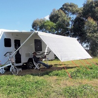 Coast V2 Sunscreen W3415mmxH1800mm T/S 12' CF Awning.