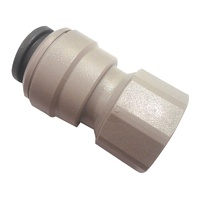 John Guest Female Plastic Connector For 12mm X 3/8 FBSP - 800-02000