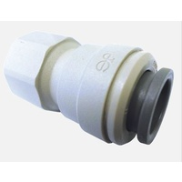 "John Guest  Female Plastic Connector for 12mm x 3/8"" FBSP - 800-02001"