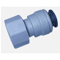 John Guest Female Plastic Connector For 12mm x 1/2 FBSP - 800-02002
