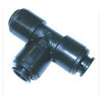 John Guest Plastic 12mm Tee Connector - 800-02008