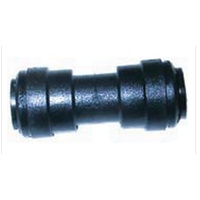 John Guest Plastic 12mm Straight Connector - 800-02012