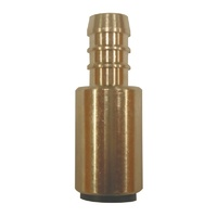 "John Guest 12mm 1/2"" Tube to Hose Brass - 800-02042"