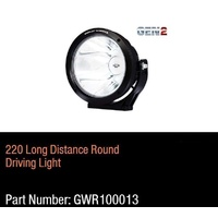 Great Whites - Gen 2 - 220mm Long Distance Driving Light Round  9-32V DC