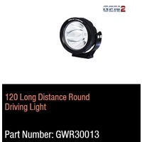Great Whites - Gen 2  - 120mm Long Distance LED Driving Light Round  9-32V DC