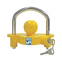 Coupling Lock Hi Vis with 2 Keys - MH-NCL20