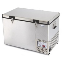 National-Luna 55 Lt High Performance Fridge-Freezer Stainless Steel - NLR55S