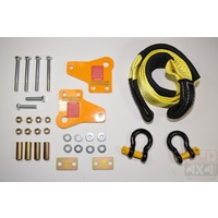KIT - 4WD - HD TOW POINT HILUX 05-ON - PAIR INC BRIDLE + SHACKLES