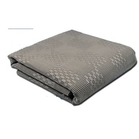 COAST Multi-Purpose Floor Mat Grey 250cm x 600cm C/W Carry Bag.