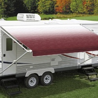 Carefree 11ft Burgundy Shale Fade Roll Out Awning (No Arms). FF116A00HM