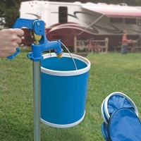 CAMCO RV COLLAPSIBLE BUCKET 11L CAPACITY.42993