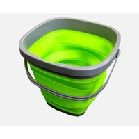 COLLAPSIBLE  10L BUCKET GREEN. RCBUK002