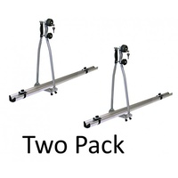 Coast Star Roof Rack Mount Bike Carrier TWO PACK