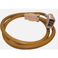 CMS 1000MM INTERCONNECTING LEAD 20AMP BEIGE. JL10BG