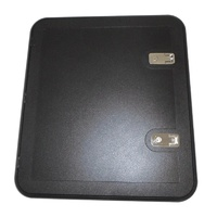 Coast Door 4 - Black 566 x 631 (M500-230)