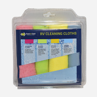 COAST Cleaning Cloth Pack of 4pcs. FLD-TZ037
