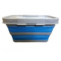 COLLAPSIBLE MEDIUM TUB WITH LID