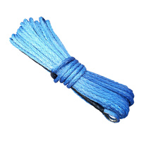 Synthetic Winch Rope - 25M x 10MM (BLUE)