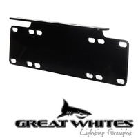 Great Whites - Number Plate Bracket to Suits LED Light Bars - GWA0001