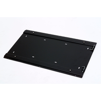 National Luna S-Steel Quick Release Mounting Plate suit all 72 to 125 Lt  Models (Secures fridge via keyholes in fridge base - much more securely than