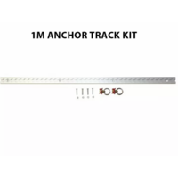 Aluminium Anchor Track Tie Down Kit with 2 Load Rings - OLTD7