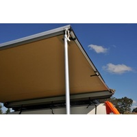 Aventa Bag Awning Telescopic Pole with Rubber Stop for Legs and Side Arms