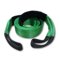 4WD - TREE TRUNK PROTECTOR 3M 100MM 12000KG - GREEN/BLACK