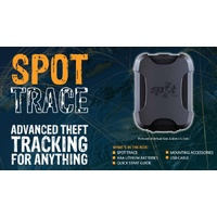 SPOT Trace theft-alert tracking device with Waterproof Power Lead - Spottr_Spottrc