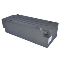 58Lt Rectangular Universal Poly Water Tank with recessed outlets for optional mounting in Vertical or Flat Position.  1/2'' BSP brass outlet.  Require