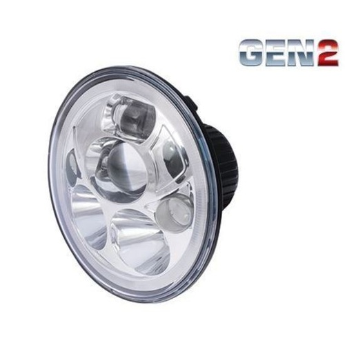 Great Whites 7 LED Sealed Beam High/Low Headlight Insert with Park Light""